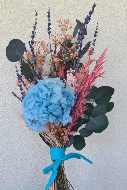 ramo flores preservadas