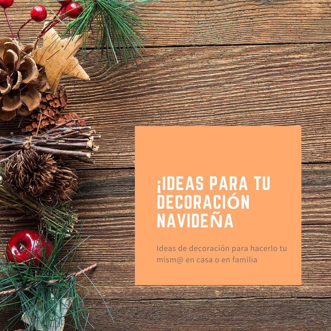ideas para decoracion navideña