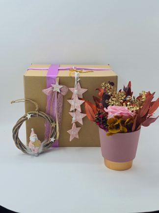 regalo navidad flores preservadas